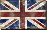 England Stretched Canvas Print by Luke Wilson