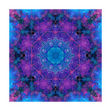 Finest Crown Chakra Mandala Photographic Print by Alaya Gadeh
