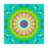 Happy Mandala Photographic Print by Alaya Gadeh