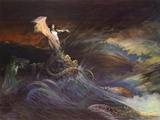Sea Witch Prints by Frank Frazetta