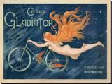 Cycles Gladiator, c.1895 Reproducción en lienzo de la lámina