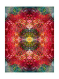 Energy Of The Heart II Prints by Alaya Gadeh