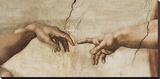 Skabelsen af Adam, ca. 1510 (detaljer) Lærredstryk på blindramme af Michelangelo Buonarroti