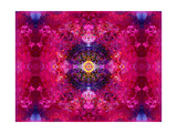 Mandala Kiss Photographic Print by Alaya Gadeh