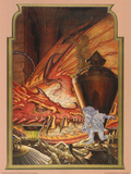 Invisible Thief (Bilbo and Smaug) Reprodukcje autor Steve Hickman