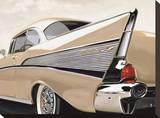 57 Bel Air Reproduction sur toile tendue par Francis Brook