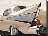 57 Bel Air Reproducción en lienzo de la lámina por Francis Brook