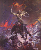 Berserker (cover art for Conan the Conqueror) Posters by Frank Frazetta