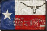Texas Proud Stretched Canvas Print by Luke Wilson