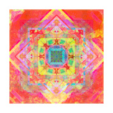 Colorful Geometry 1 Photographic Print by Alaya Gadeh