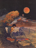 Wolfmoon Prints by Frank Frazetta