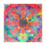 Floral Circle Photographic Print by Alaya Gadeh