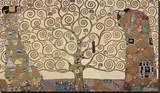 Drzewo życia, Stoclet Frieze, ok. 1909 Płótno naciągnięte na blejtram - reprodukcja autor Gustav Klimt