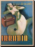 Irradio, 1939 Stretched Canvas Print by Gino Boccasile