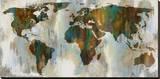 World of Color Trykk på strukket lerret av Russell Brennan