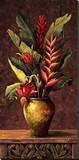 Arrangement tropical I Reproduction sur toile tendue par Eduardo Moreau