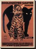 Zoologischer Garten, 1912 Stretched Canvas Print