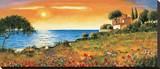 Sunlight Coast Stretched Canvas Print by Richard Leblanc