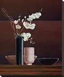 Ikebana I Stretched Canvas Print by Yuki Ross