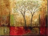 Morgenschimmer I Leinwand von Mike Klung