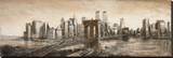 New York, New York Stretched Canvas Print by Matthew Daniels