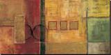 Harmony I Reproducción en lienzo de la lámina por Mike Klung