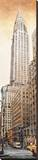 The Chrysler Building Stretched Canvas Print by Matthew Daniels