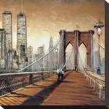 Manhattan Sunset II Reproduction sur toile tendue par Matthew Daniels