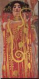 Hygieia Reproducción en lienzo de la lámina por Gustav Klimt