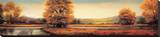 Landscape Panorama II Stretched Canvas Print by Ryan Franklin