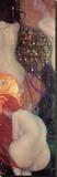 Goldfische Leinwand von Gustav Klimt