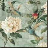 Birds of a Feather I Reproduction sur toile tendue par Reneé Campbell