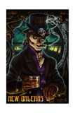 Baron Samedi Voodoo - New Orleans, Louisiana Prints by  Lantern Press