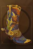 Cowboy Boot Art