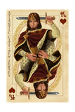Atlantic City, New Jersey - King of Hearts Print by  Lantern Press