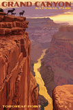 Grand Canyon National Park - Toroweap Point Prints by  Lantern Press