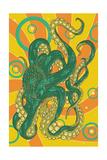 Kraken Posters af  Lantern Press