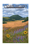 Capulin Volcano National Monument, New Mexico Poster by  Lantern Press