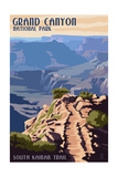 South Kaibab Trail - Grand Canyon National Park Posters by  Lantern Press