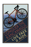 Conquer the Kancamagus, New Hampshire - Mountain Bike Posters