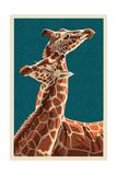 Giraffe Poster by  Lantern Press