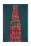 Drunk Typography - Beer Bottle Posters by  Lantern Press