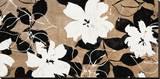 Ensemble de Fleurs Stretched Canvas Print by Sylvie Cailler