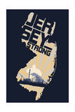 New Jersey - Jersey Strong Posters by  Lantern Press