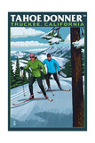 Truckee, California - Tahoe Donner Prints by  Lantern Press