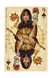 Atlantic City, New Jersey - Queen of Spades Posters by  Lantern Press
