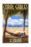 Coral Gables, Florida - Palms and Hammock Prints
