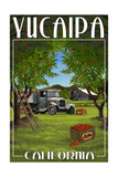 Yucaipa, California - Apple Orchard Harvest Posters by  Lantern Press