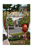 Franklin, Tennessee - Montage Posters by  Lantern Press