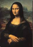 Leonardo da Vinci - Mona Lisa, c.1507 Reprodukce na plátně